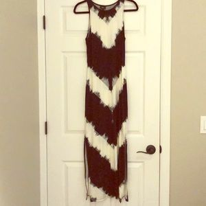 NWOT Mossimo fitted maxi dress with side slits